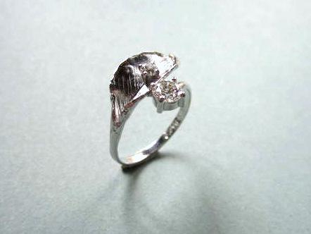 ダイヤのペンダントとリングをリフォーム